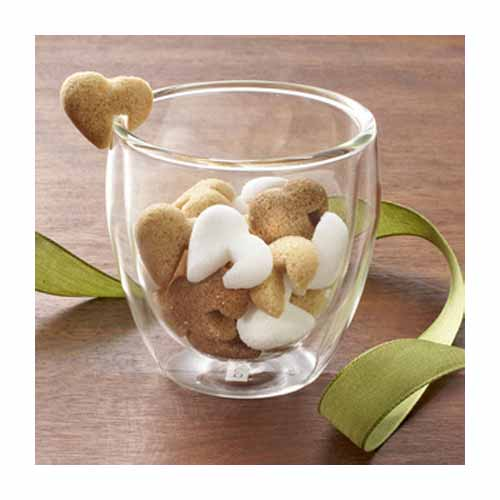 French Heart-Shaped Sugar Cubes