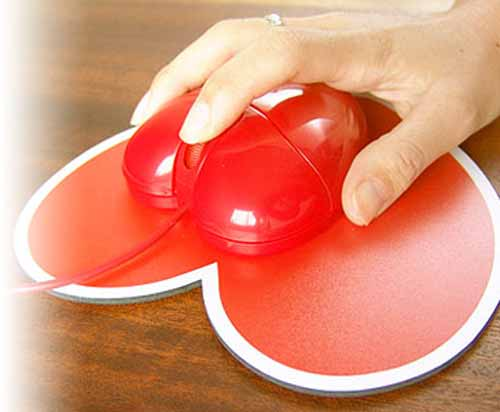 Valentine Computer Mouse