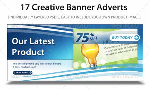 17 Web Marketing Banner Ads