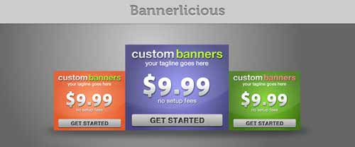 Bannerlicious – 15 Classy Web Banners