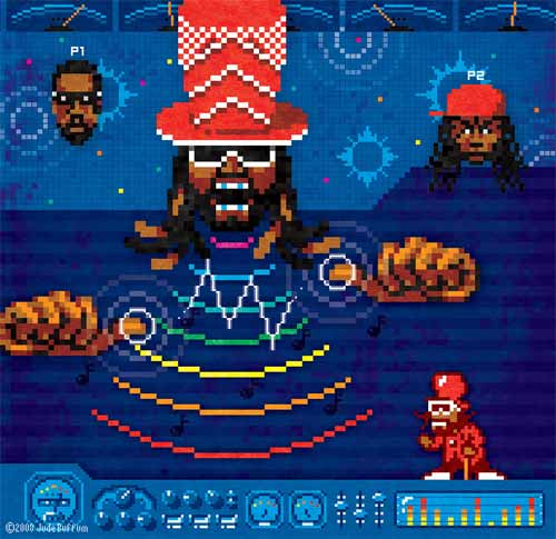 Autotune 8-Bit Artworks