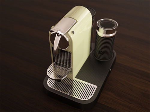 Milk Espresso Maker Model