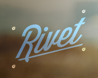 Blurred Background in Logo Design: Rivet