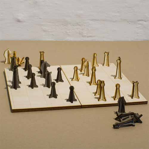 Non-essentials Chess Set