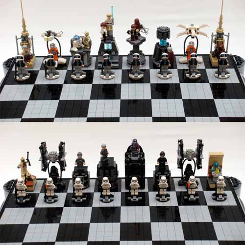 Star Wars Lego Chess Set Designs