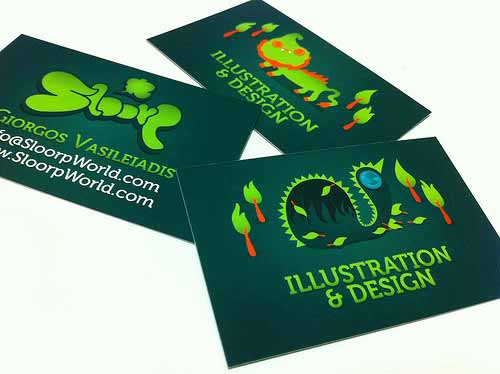 Sloorp Business Cards