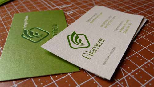 25 sustainable green business card samples for inspiration filament creative colourmoves