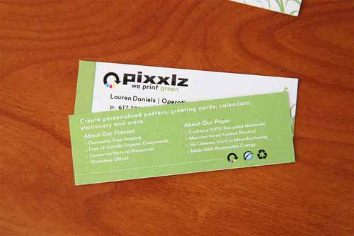 Pixxlz Mini Business Cards