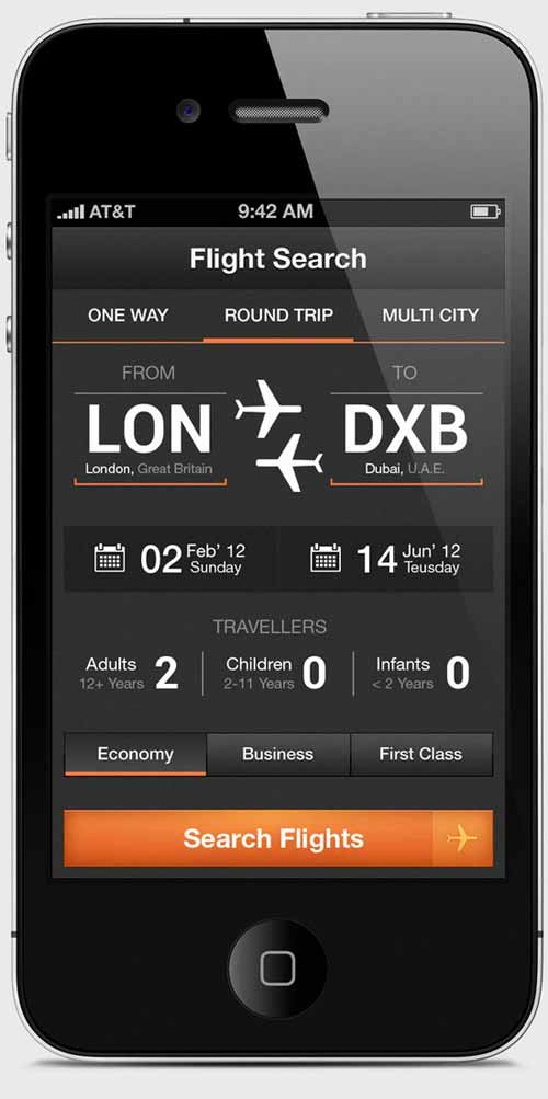 Flight Search App – Airwala