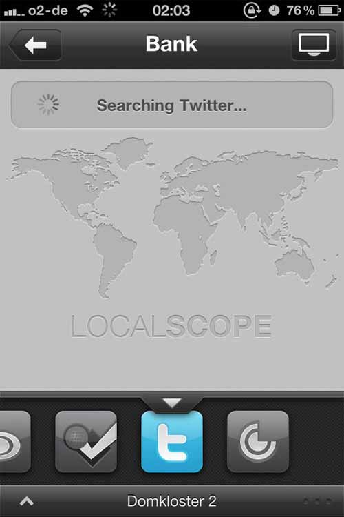 Search Bar Designs: Localscope