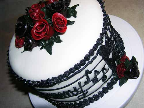 20 Mouthwatering Ideas for Music Cake Designs ~ 093617_Cake Design Ideas Music