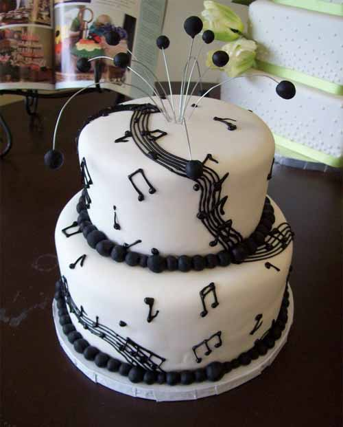 Mouthwatering Ideas For Music Cake Designs