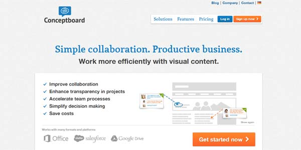 Conceptboard – Online Whiteboard for Visual Collaboration