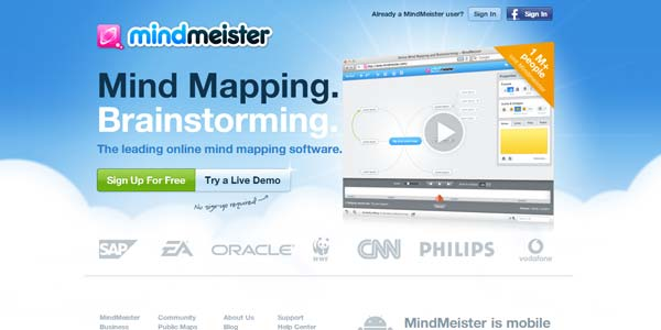 Mind Mapping Software - Create Mind Maps Online