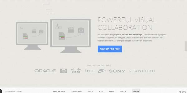 Online Collaboration Tools: CanvasDropr