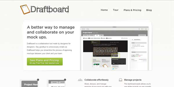 Draftboard - Collaboration Tool Made for Designers