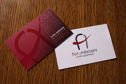 Flora Ambrosini Business Card