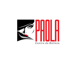 Paola Salon Logo Design