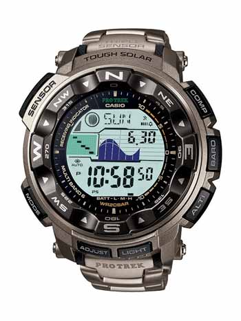 Casio Triple Sensor Altimeter Watch