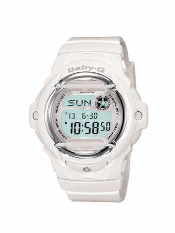 Baby-G White Whale Digital Sport Watch