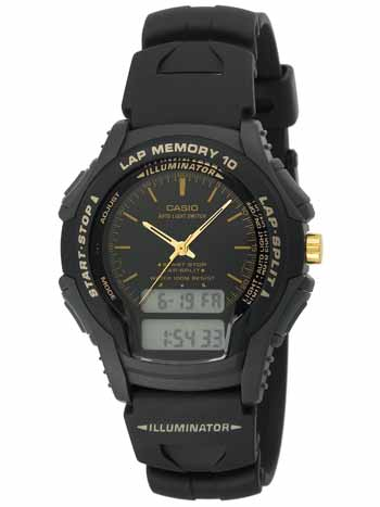 Men's Full LCD Ana-Digi Illuminator Sport Watch