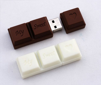 USB Drive Designs: 2GB Chocolate Bar USB Drive