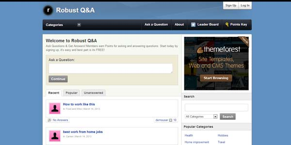 WordPress App Themes: Robust Q&A