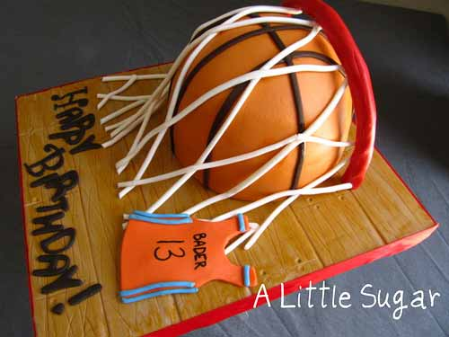 Cake Design Basketball Prezup for