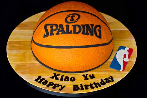 Spalding Birthday Cake
