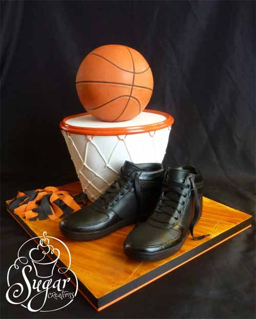 Basketball Cake Ideas