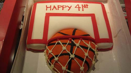 Basketball Cake Design