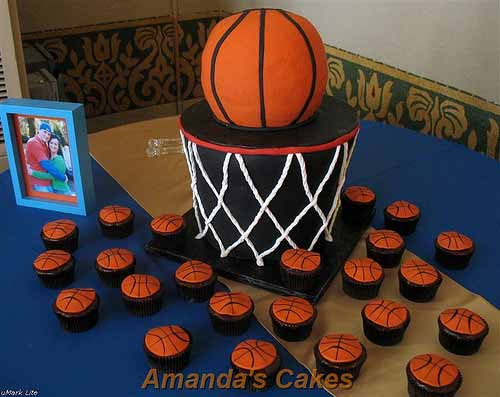 Unc Basketball Birthday Cake
