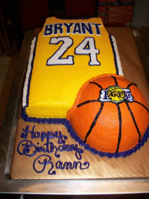 Los Angeles Lakers - Kobe Bryant Cake