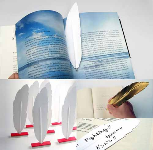 Haptic Penna Bookmark Design
