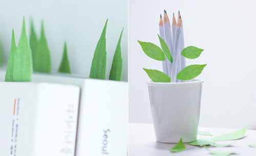 Leaf-it Bookmark Post-its by Sangwoo Nam – Appree