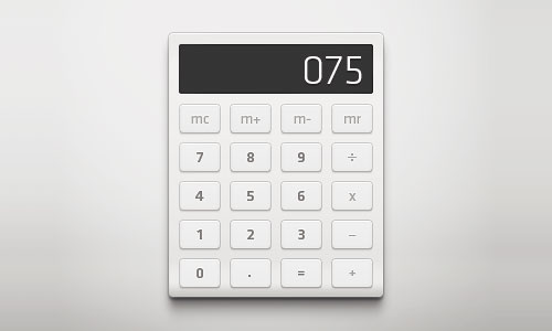 20 Calculator Interface To Inspire Your Web Design Projects