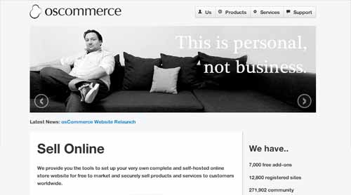 eCommerce Solutions for Your Business - osCommerce