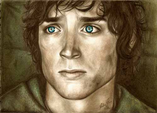 Frodo Baggins Illustration