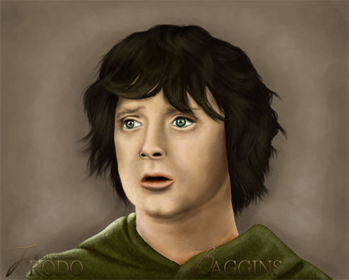 Frodo Baggins Digital Painting