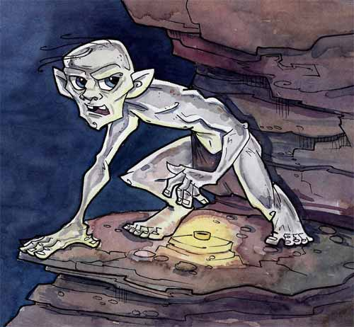 Gollum Artwork