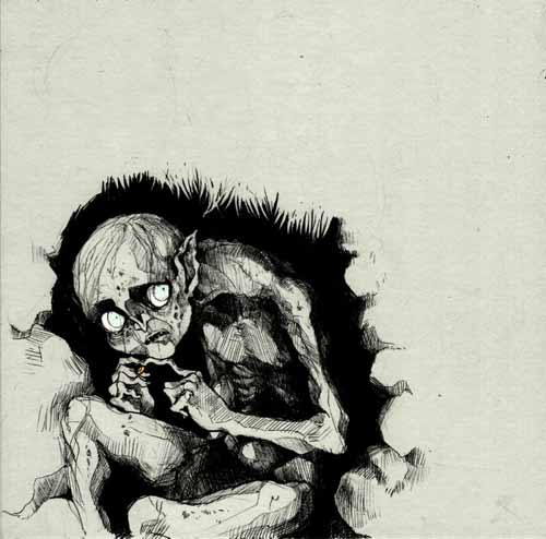 Gollum Illustration