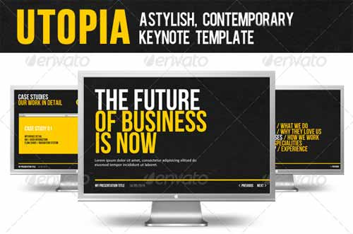 Utopia Business Keynote Presentation Templates