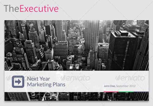 TheExecutive Keynote Template