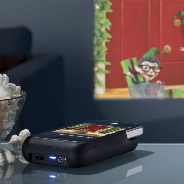 Product of the Day: Pocket Projector for iPhone 4 Devices
