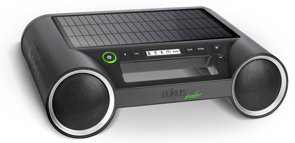 Product of the Day: Solar Powered Wireless Speaker System