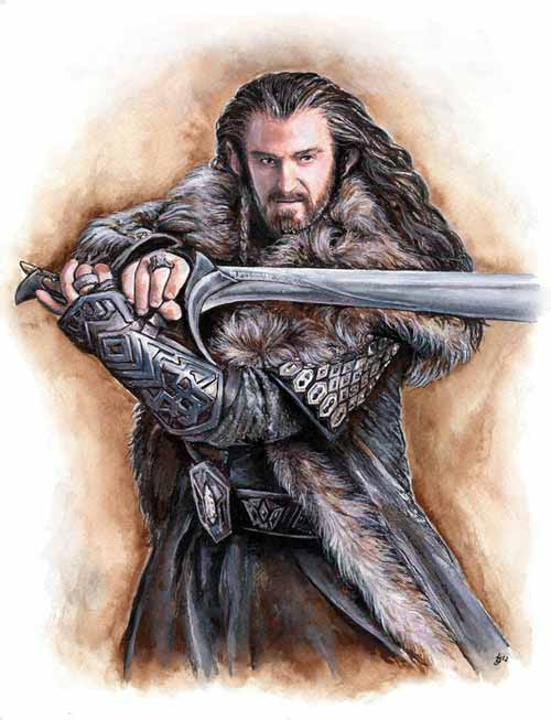 Thorin Oakenshield Illustration