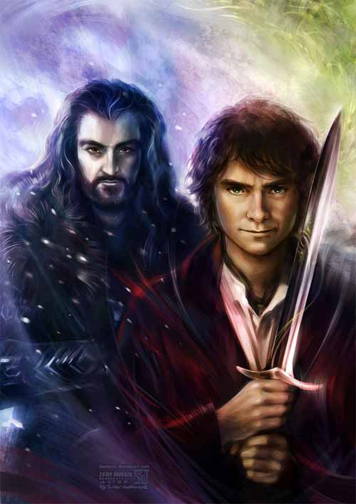 Hobbit: Thorin and Bilbo