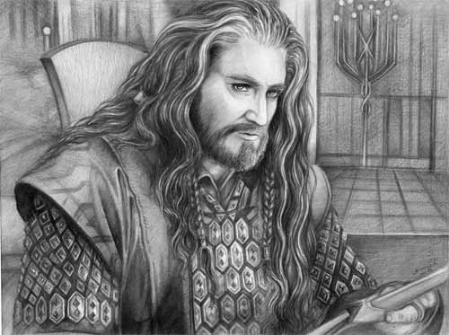 Thorin in Rivendell