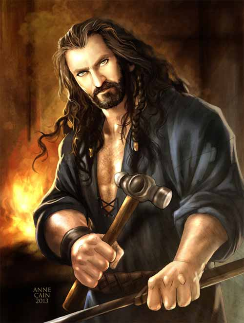 The Hobbit: Metalsmith Thorin