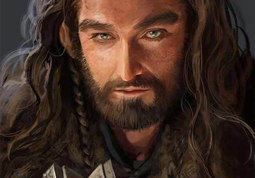 20 Ferocious Digital Illustrations of Thorin Oakenshield